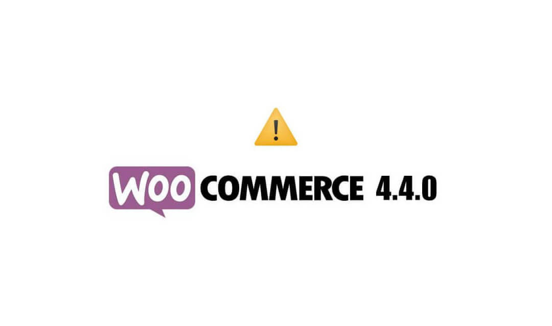 Critical error on updating to WooCommerce 4.4.0 on WordPress website